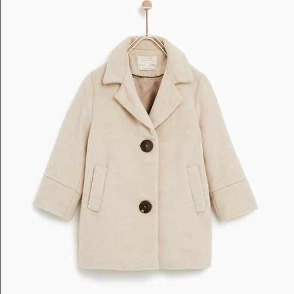latest trends hot-selling real how to purchase Zara Kids Girls Button Coat Sz. 11-12 NWT NWT
